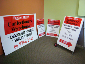 Confection Sign